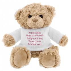 Personalised - Teddy Bear -...