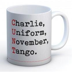 C.U.N.T Acronym Mug