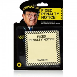 Fixed Penalty Notice Prank