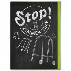 Chalk - Stop! Zimmer Time