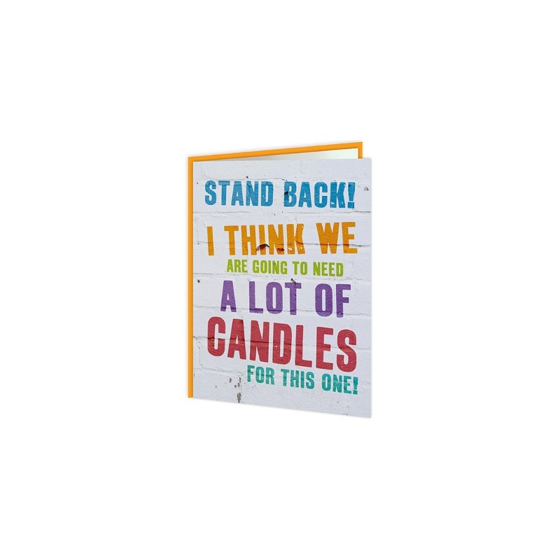 Word Up! - Stand Back, I Think We're Going To Need A Lot Of Candles
