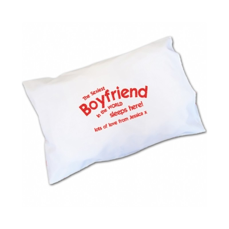 Personalised - Sexiest Boyfriend Pillowcase