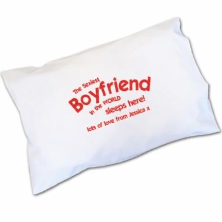 Personalised - Sexiest Boyfriend Pillowcase