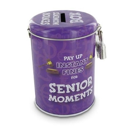 Fine Tins - Senior moments
