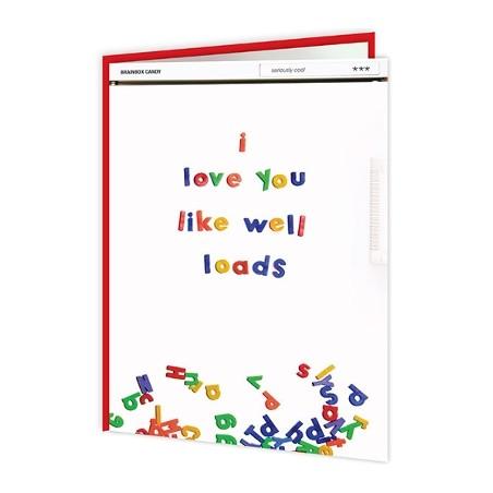 Cheeky Titles - I Love You Like Well Loads