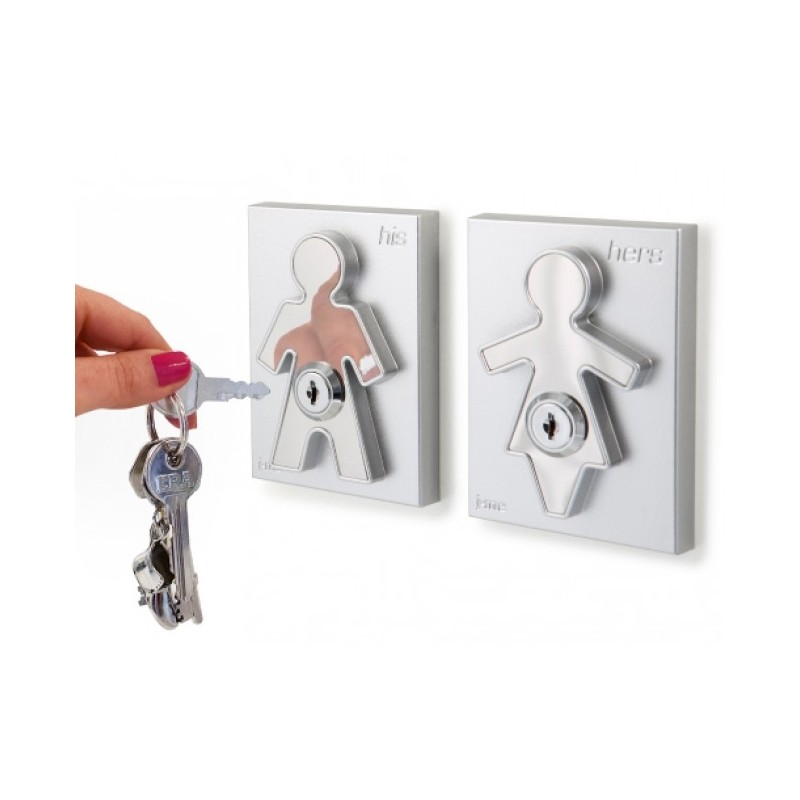 His and Hers Keyholders