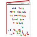 Cheeky Titles - Did Your 1000 Friends On Facebook Get You A Card?
