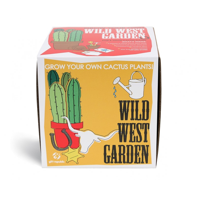 Sow and Grow - Wild West Garden