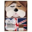 Knitted Snuggle Hotties - Bulldog